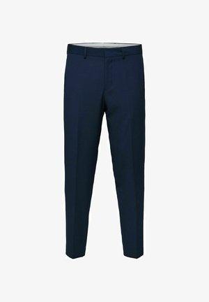 Pantaloni eleganti - navy blazer