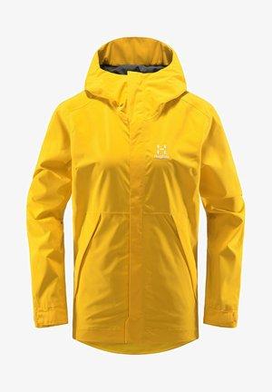 TJÄRN JACKET - Hardshell jacket - pumpkin yellow