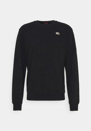 SCRAP CREW - Sweatshirt - black