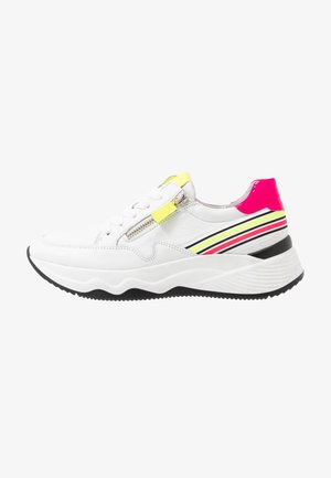 Zapatillas - weiss/neon