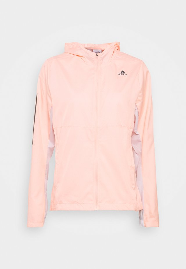 OWN THE RUN - Training jacket - coral