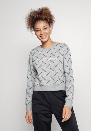 Sweatshirt - heather grey/black