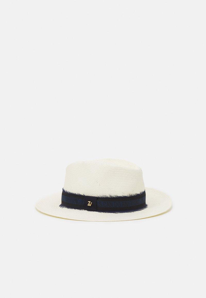Zadig & Voltaire - STRAW HAT - Klobouk - navy