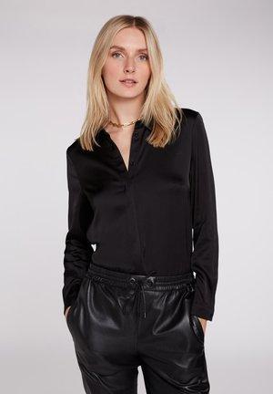 KLASSISCHEN STIL - Button-down blouse - black