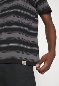 Carhartt WIP - BUREN  - Print T-shirt - black - 5