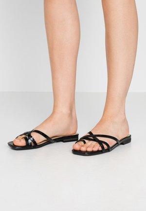 LILLYY - T-bar sandals - black