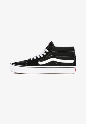 UA ComfyCush SK8-Mid - High-top trainers - (classic) black/true whit