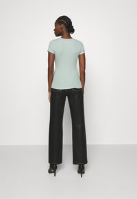 Abercrombie & Fitch - HENLEY - T-shirt basic - green - 2