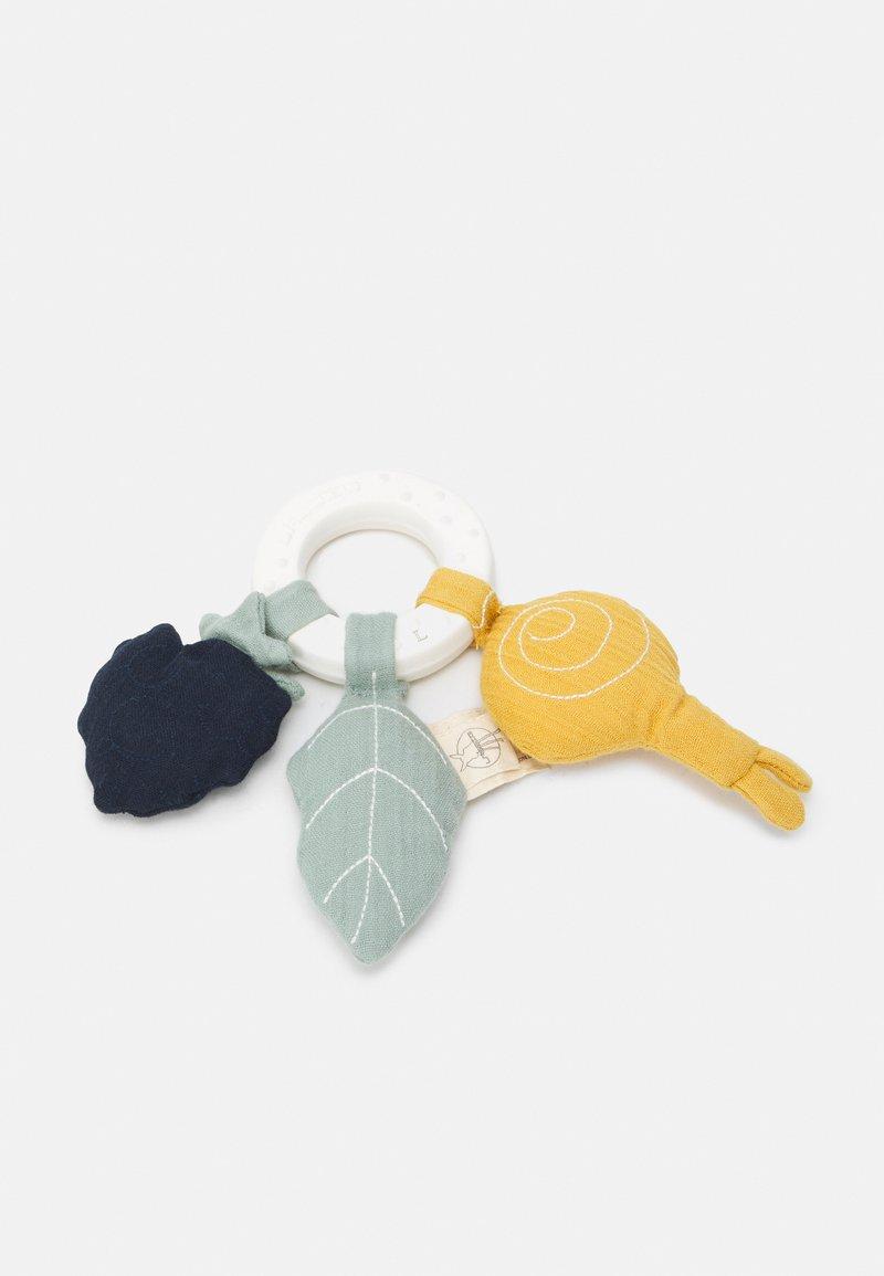 Lässig - TEETHER NATURAL RUBBER SNAIL UNISEX - Teether - multicoloured
