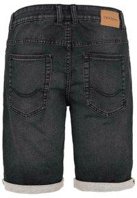 camel active - Denim shorts - black - 1