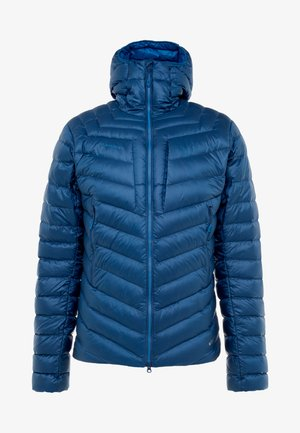 BROAD PEAK IN HOODED - Gewatteerde jas - wing teal/sapphire