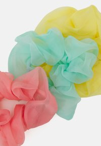 Pieces - PCDITTY SCRUNCHIE 3 PACK - Hair styling accessory - yellow/mint/pink - 1