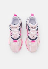 ARKK Copenhagen - VIBRAM UNISEX - Trainers - light pink/white - 3