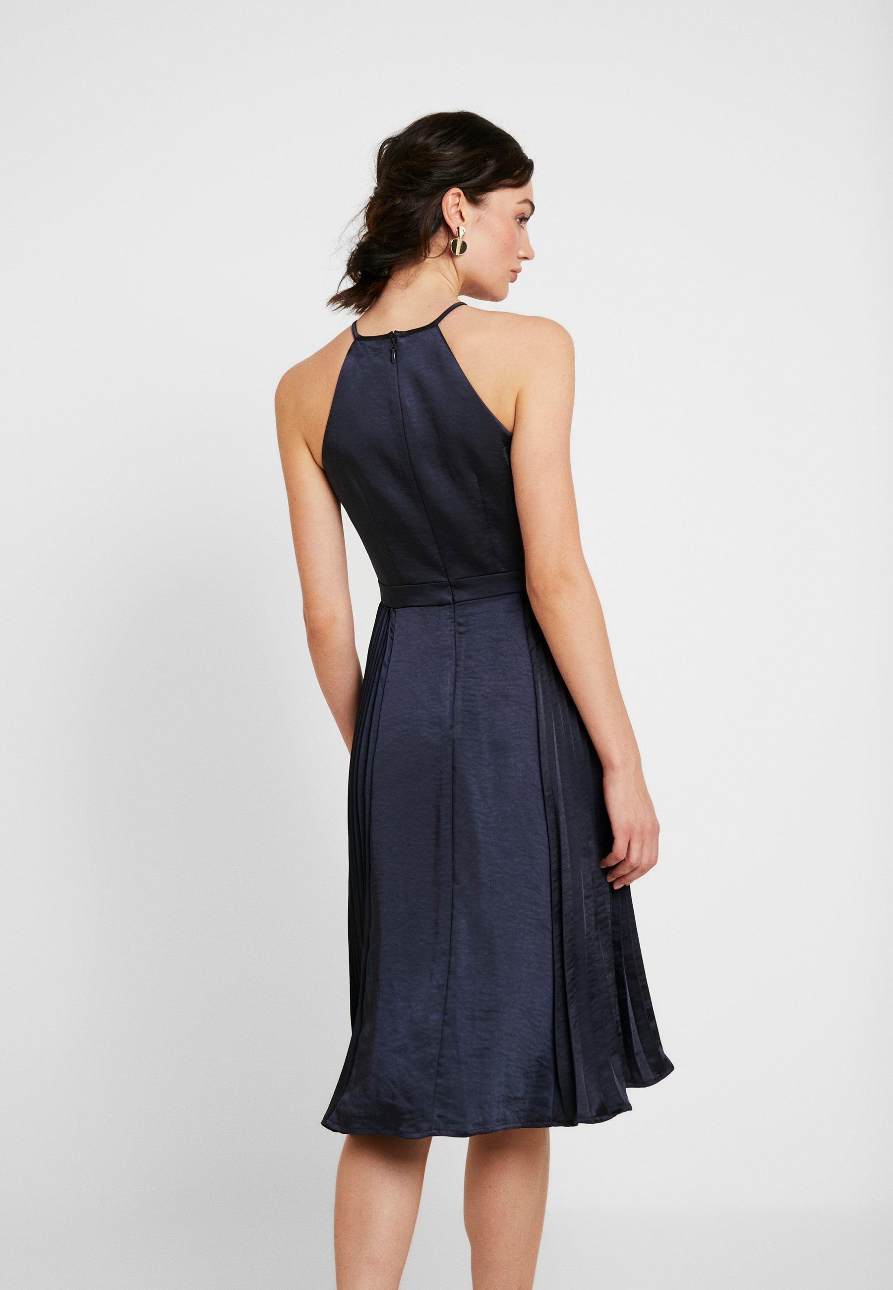 Chi Chi London CHI CHI BENITA DRESS - Robe de cocktail - navy - Robes femme noDFs