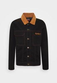 Kickers Classics - TRUCKER JACKET - Summer jacket - black - 0