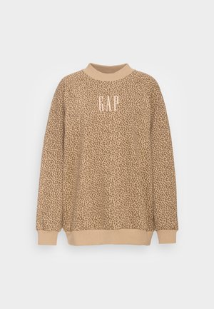 MOCKNECK - Sweatshirt - beige