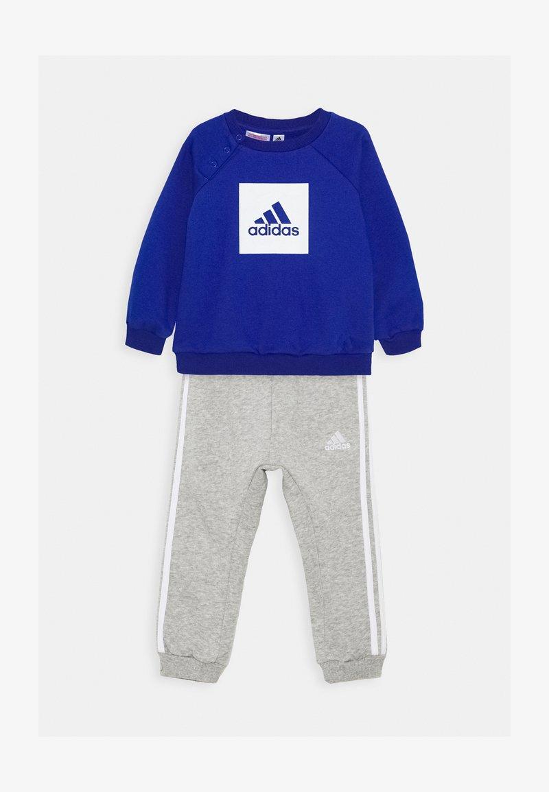 adidas Performance - LOGO SET UNISEX - Tracksuit - royal blue/white