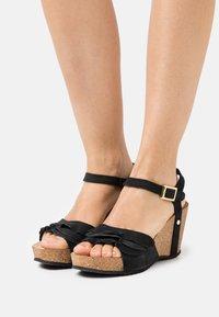 Copenhagen Shoes - ELVIRA  - Platform sandals - black - 0