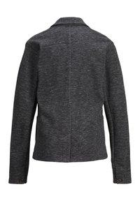 Jack & Jones Junior - SWEATBLAZER JUNGS SWEATSTOFF - Blazer jacket - black denim - 1