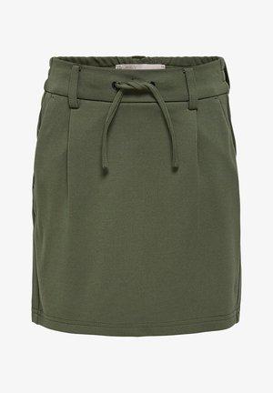 ROCK POPTRASH - A-line skirt - kalamata