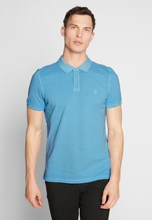 SHORT SLEEVE BUTTON PLACKET - Polo shirt - airblue