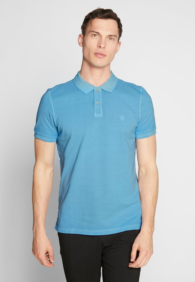 SHORT SLEEVE - Polo shirt - airblue