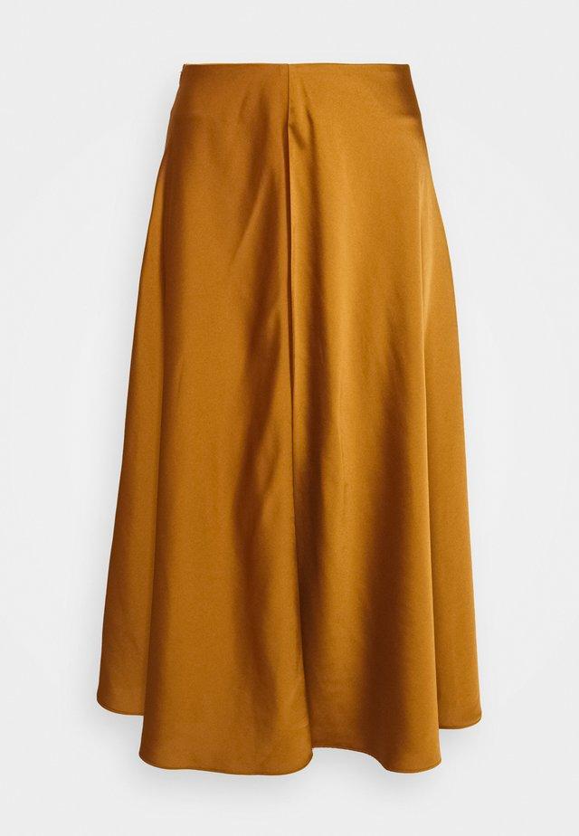 SKIRT - A-line skirt - chai