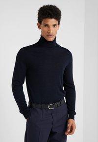 PS Paul Smith - MEN BELT DINO EMBOSS - Belt - black - 1
