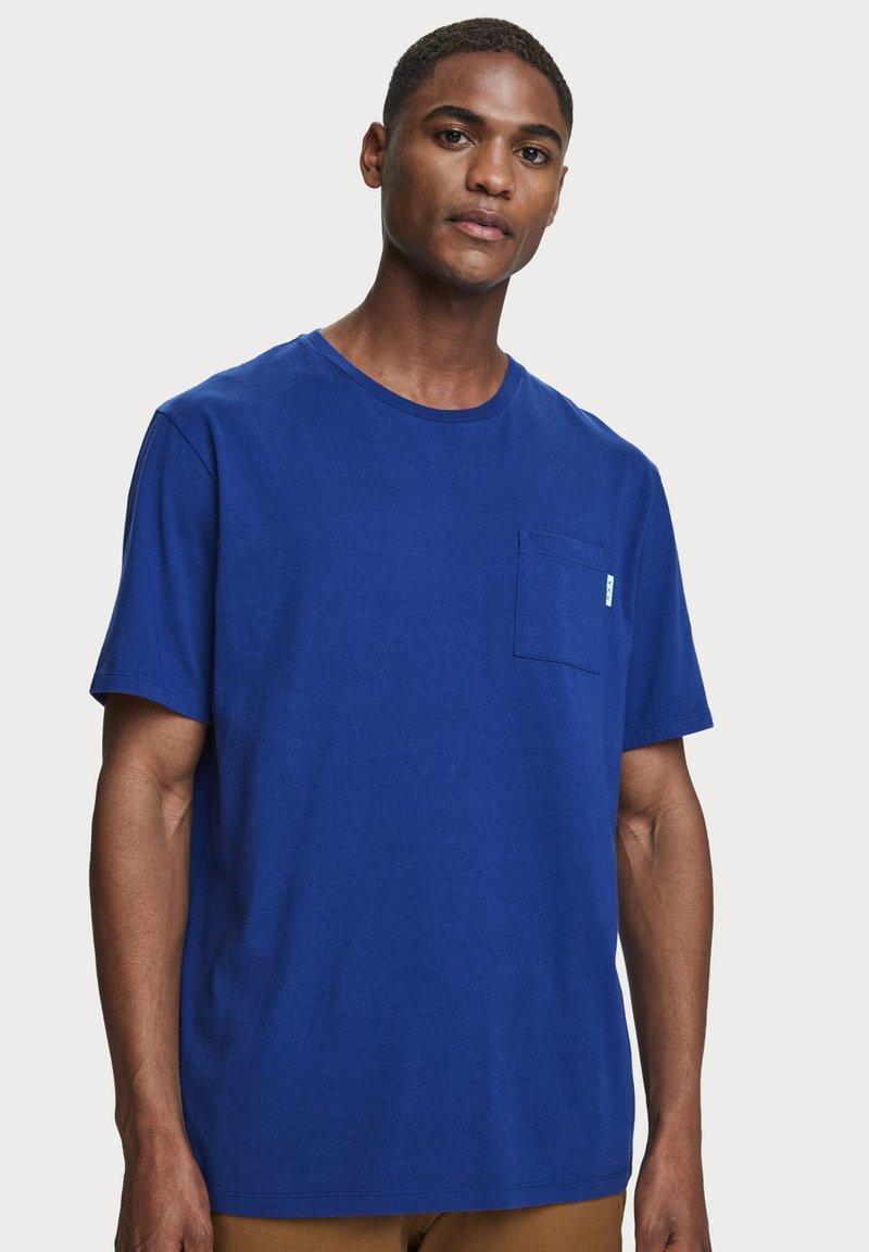 Scotch & Soda - Basic T-shirt - yinmin blue