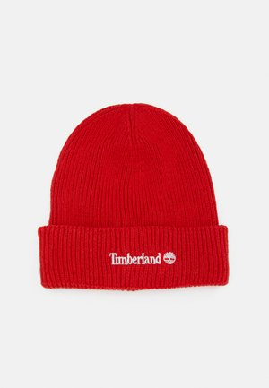 PULL ON HAT UNISEX - Beanie - bright red
