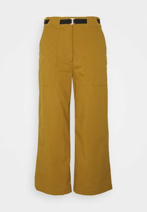 OUTRACK HIGH PANTS - Pantaloni - cumin