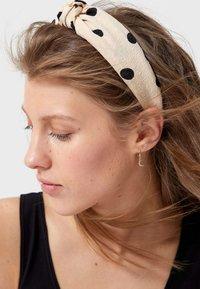 Stradivarius - MIT TUPFEN  - Hair styling accessory - brown - 2