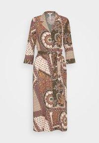 Object - OBJSUN LONG DRESS - Sukienka letnia - burnt olive - 4