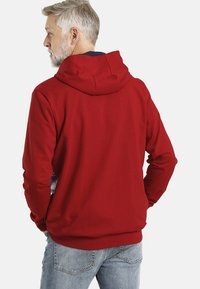 Jan Vanderstorm - HELMER - Zip-up hoodie - rot - 1
