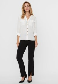 Vero Moda - Button-down blouse - snow white - 1