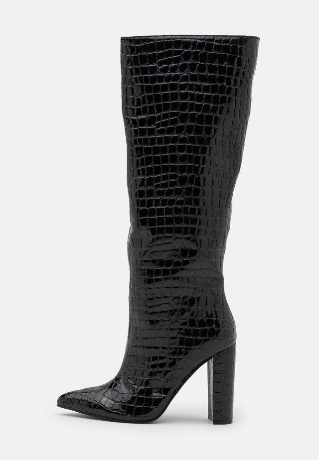 TAMSIN - Laarzen met hoge hak - black