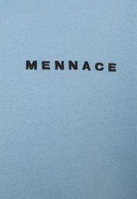 Mennace - MENNACE ESSENTIAL HOODIE - Sweatshirt - sky blue - 2