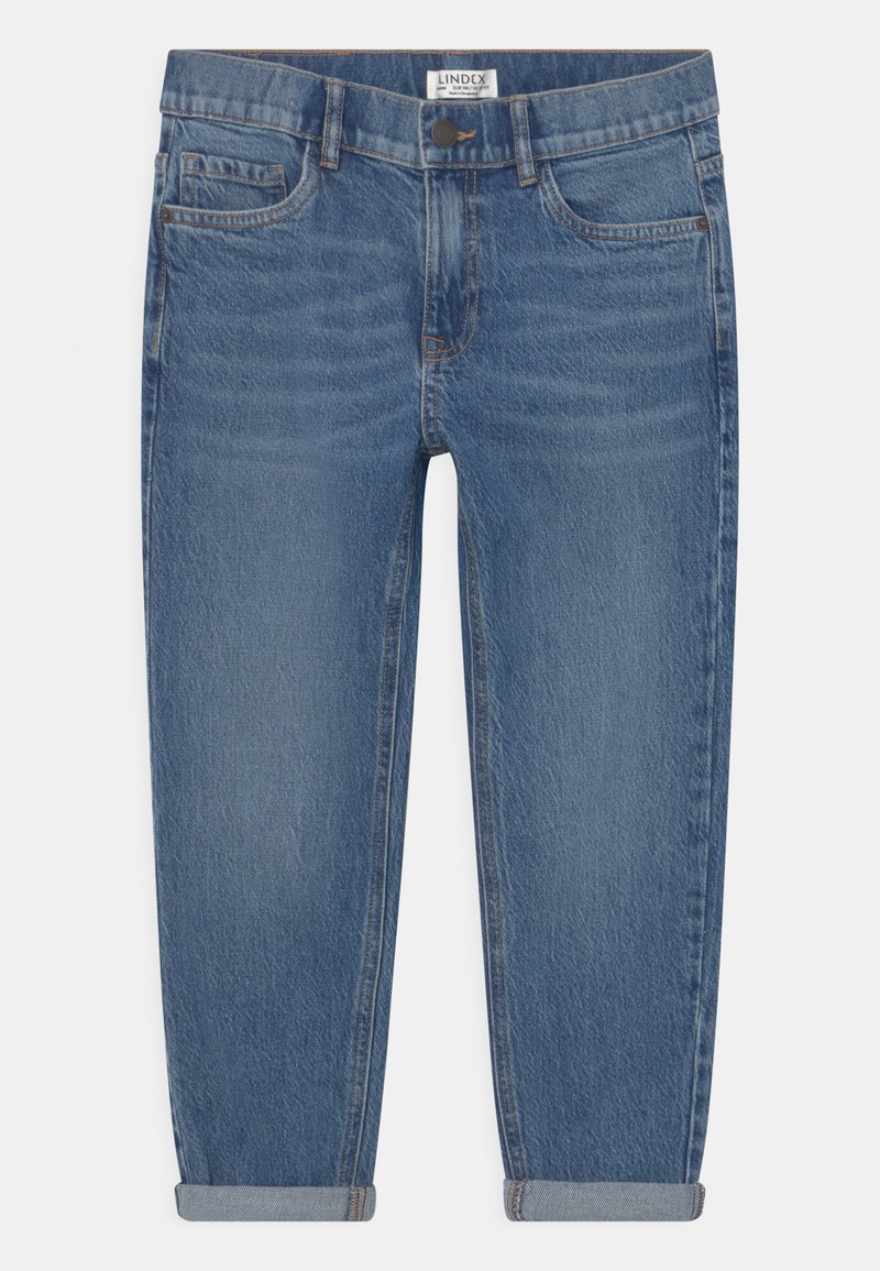 Lindex - TEEN DADFIT - Relaxed fit jeans - denim