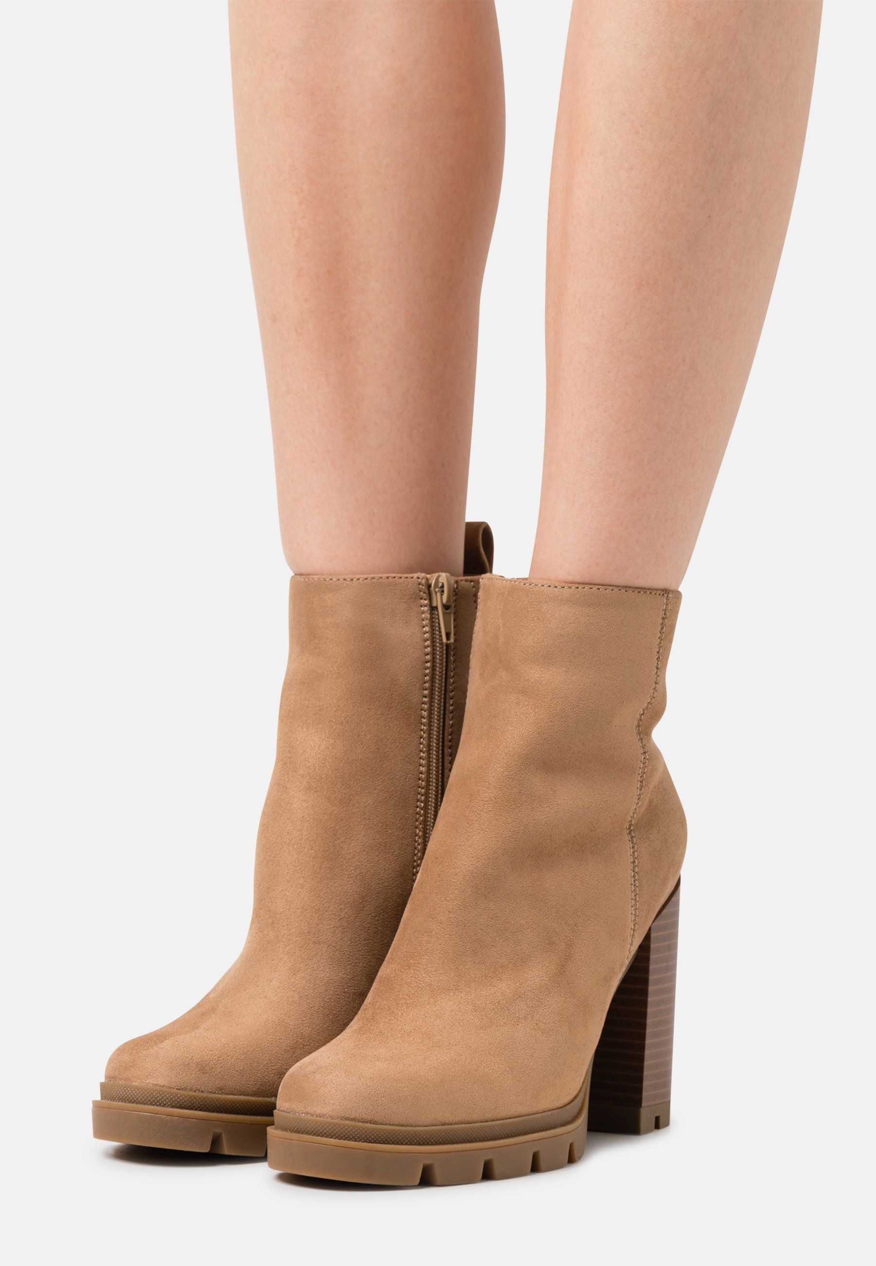 Women ONLBRAVE LIFE STACKED BOOT  - Platform ankle boots