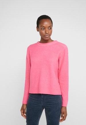 BUBBLE CREWNECK - Jersey de punto - bright pink