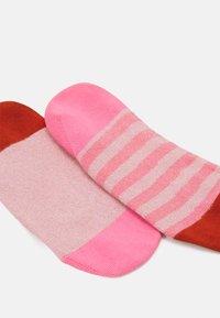 Hysteria by Happy Socks - CLAUDIA 2 PACK - Socks - pink - 1