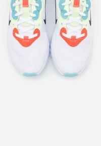 Nike Sportswear - REACT ART3MIS - Trainers - white/black/bright crimson/barely volt/glacier ice - 7