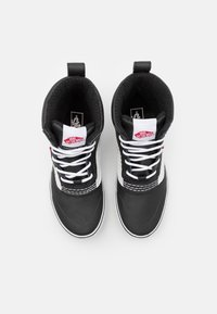 Vans - STANDARD MID MTE UNISEX - Höga sneakers - black/white - 3