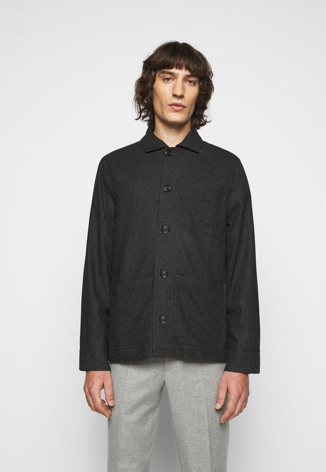 LOUIS JACKET - Lehká bunda - dark grey