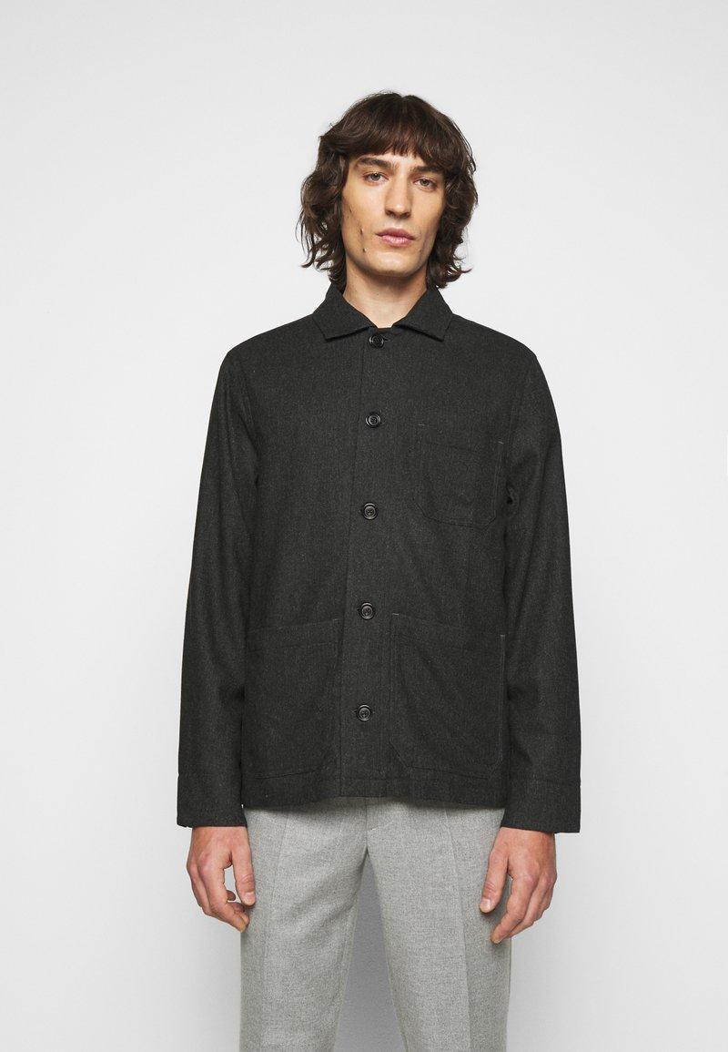 Filippa K - LOUIS JACKET - Lehká bunda - dark grey