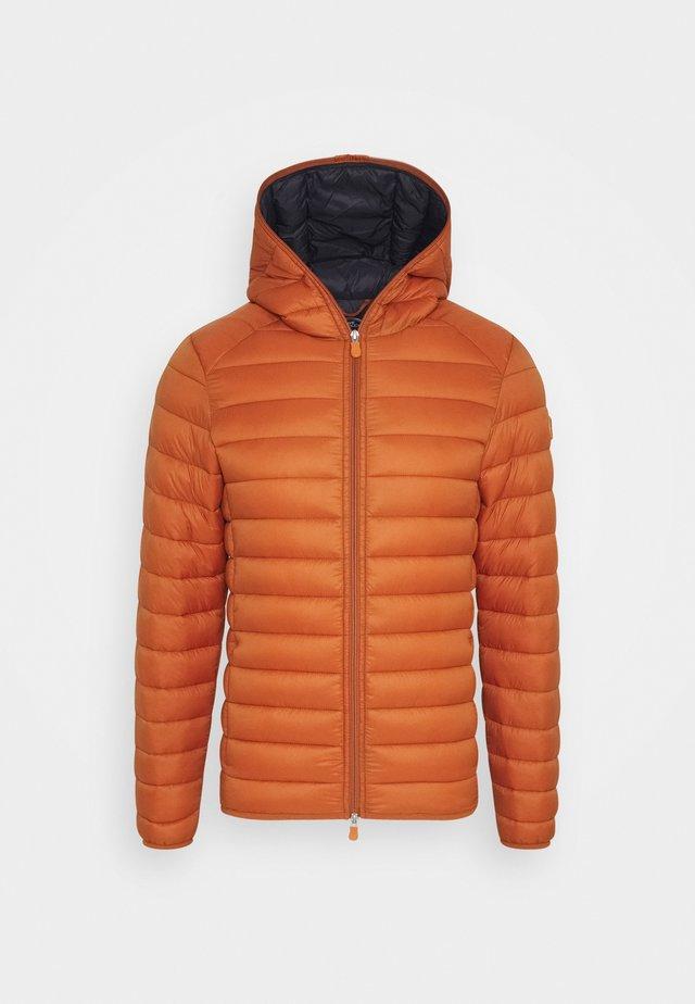 GIGAY - Lett jakke - ginger orange