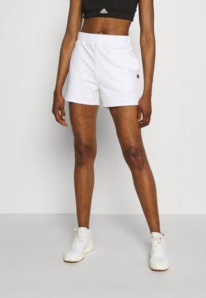 POST SHORT - Pantalón corto de deporte - white