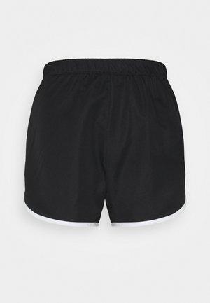 CONTRAST TRIM TRAINING SHORTS - Pantaloncini sportivi - black/white