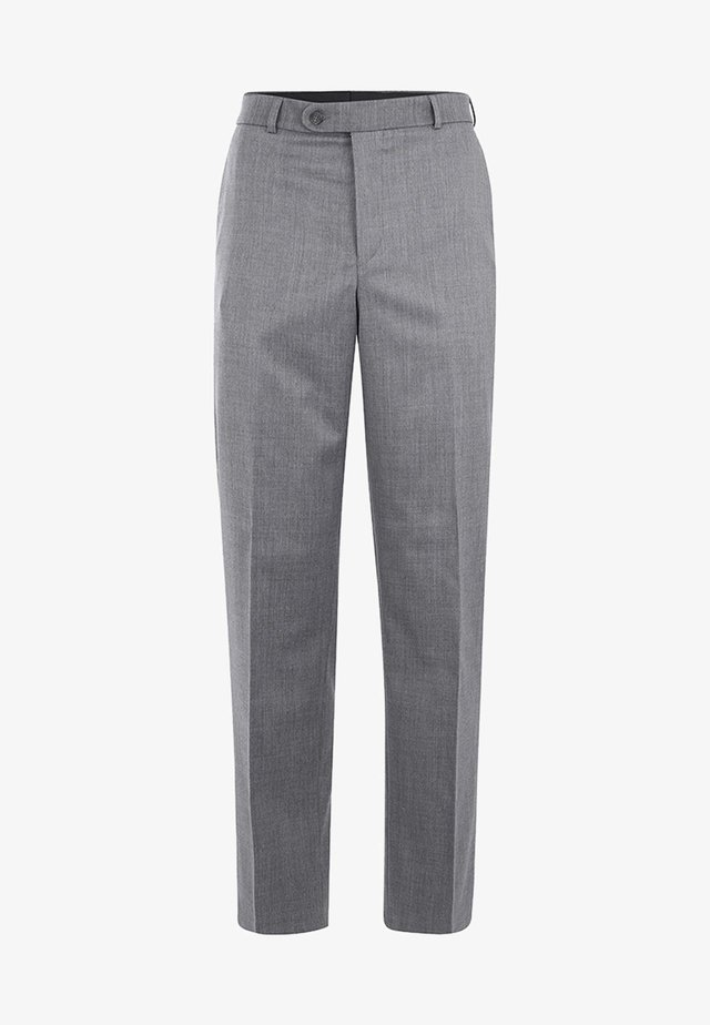 UDINE MIT KOMFORTBUND - Suit trousers - anthracite