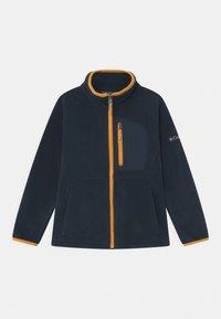 Columbia - FAST TREK FULL ZIP UNISEX - Fleece jacket - collegiate navy/bright gold - 0